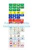 Modes of transport using colourful semantics (US and UK) writing task cards