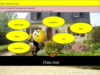 Describing where you live in French