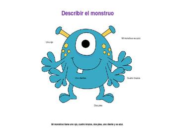 Describir el monstruo