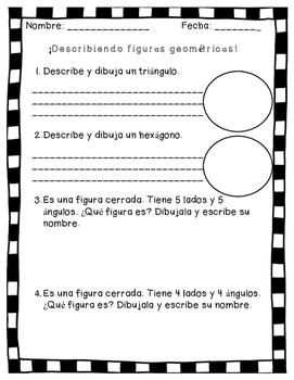 Describir figuras 2D - Describe 2D shapes