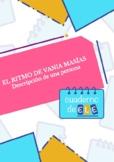 Descriptions. Descripción de una persona: Vania Masías