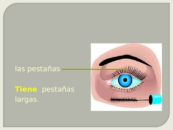 Descripcion del color de ojos