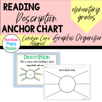 Description Anchor Chart &Graphic Organizer