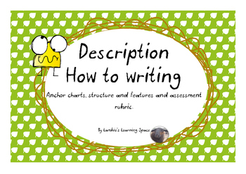 Description How To Writing (posters, labels, rubric)