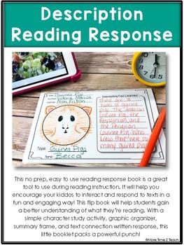 Description: Reading Response Flip Book