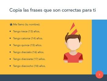 Description Task for Novice Learners (Spanish)