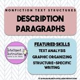 Description Text Structure: Intro, Paragraph Analysis, Wri