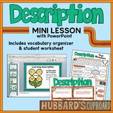 Description Text Structure PowerPoint w/ Student Worksheet