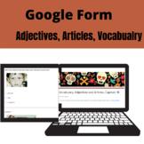 Description adjectives, articles, vocabulary chapter 1B