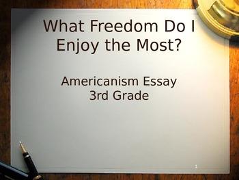 Description of Americanism