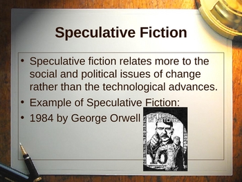 Description of Sci Fi & Fantasy with Sub Genres & Writing Assignment