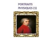 Déscription physique (hair and eyes)