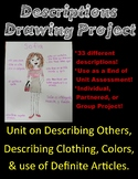 Spanish Descriptions Drawing Project