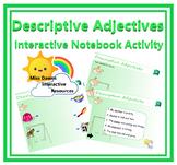Interactive Descriptive Adjectives Activity FREEBIE