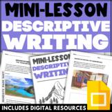 Descriptive Creative Writing Mini-Lesson   Scaffolding Pra