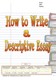 How to Write a Descriptive Essay (Writer's Process)