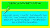 Descriptive Essay Writing Interactive Lesson