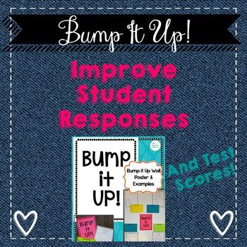 Descriptive Feedback Activity-Bump Up Student Responses using Feedback!