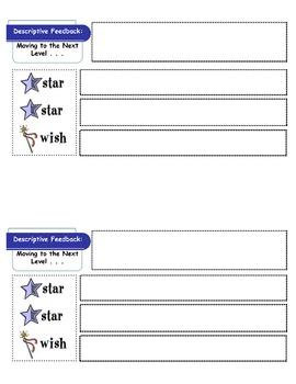 Descriptive Feedback Form
