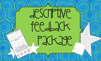 Descriptive Feedback Packet