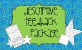 Descriptive Feedback Packet