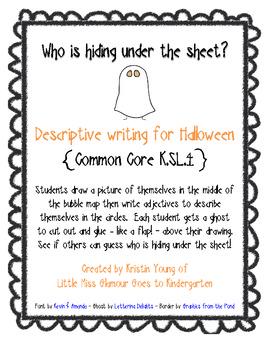 Descriptive Halloween Writing