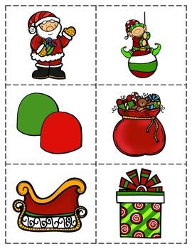 Descriptive Language Activity Packet - Christmas Edition