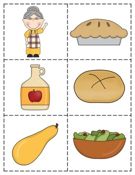 Descriptive Language Activity Packet - Old Lady Who Swallowed A Pie Edition