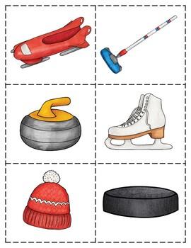 Descriptive Language Activity Packet Winter Olympics Edition