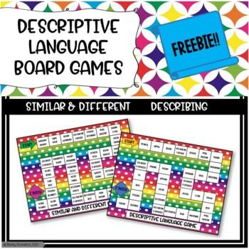 Descriptive Language Board Games