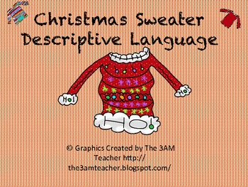 Descriptive Language Christmas Sweater Fun