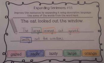 Descriptive Language: Expanding Sentences