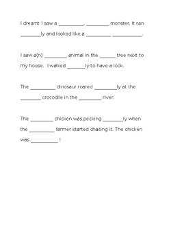 Descriptive Language Practice