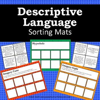 Descriptive Language Sorting Mats