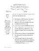 Descriptive Language Spelling List/Test Packet for The Giver by Lois Lowry