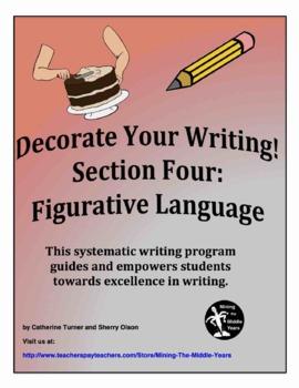 Descriptive Writing - figurative language