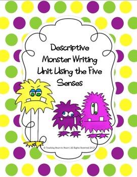 Descriptive Monster Writing Unit Using Sensory Details