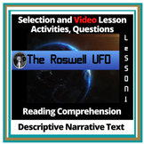Descriptive Narrative Reading Comprehension Lessons and Activities
