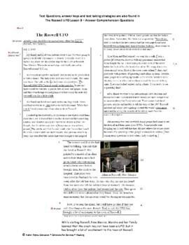 Descriptive Narrative Reading Comprehension Lessons and Activities