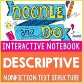 Descriptive Nonfiction Text Structure: Sketch Notes & Inte