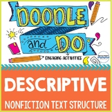 Descriptive Nonfiction Text Structure - Doodle Notes and 6