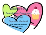 Descriptive Paragraph Writing Cupcake Contest Craftivity Common Core 4.W.2