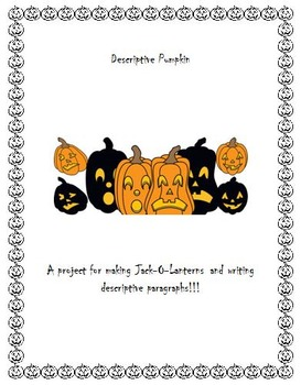Descriptive Pumpkin Writing