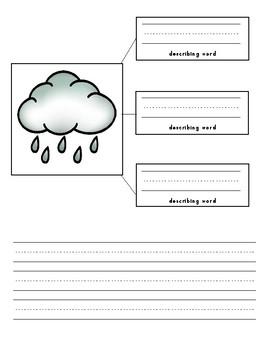 Describe the Weather - Open Court Kindergarten Unit 3