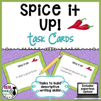 Descriptive Sentences Task Cards