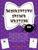 Descriptive Spider Writing {Adjectives}