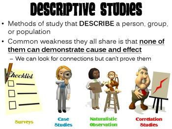 Descriptive Studies PowerPoint