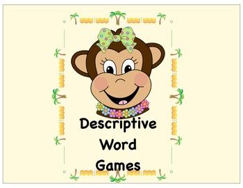 Descriptive Word Games
