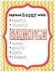 Descriptive Words - Chevron Theme