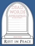 "Descriptive Words Survive ""Dead Words"""